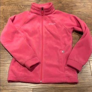Columbia Fleece zip up sweater